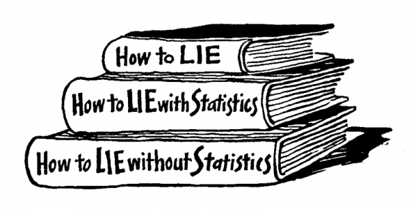Statistics never lie, they just deliver conflicting truths (2)