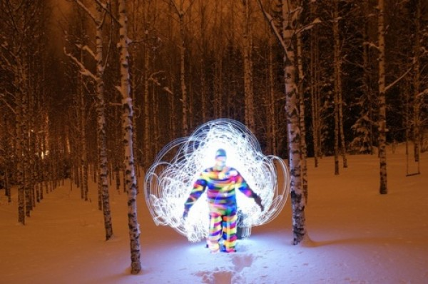 Extreme Light Painting by Janne Parviainen (1)