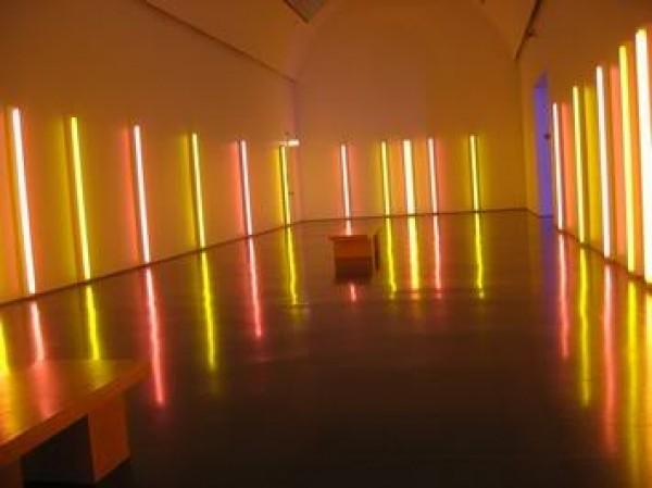 Neon Lighting Against Dark Space (7)