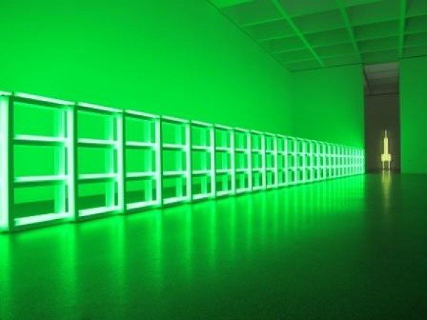 Neon Lighting Against Dark Space (8)