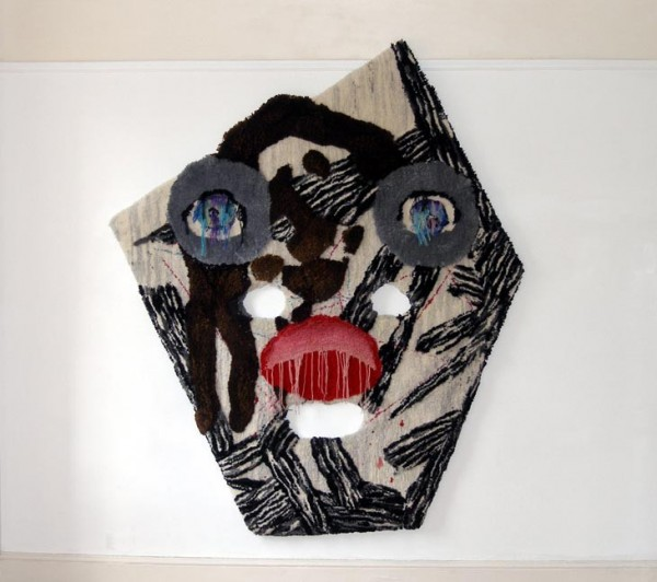 Caroline Achaintre Hand Tufted Wool Paintings (10)