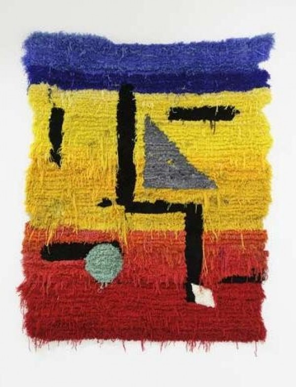 Caroline Achaintre Hand Tufted Wool Paintings (5)