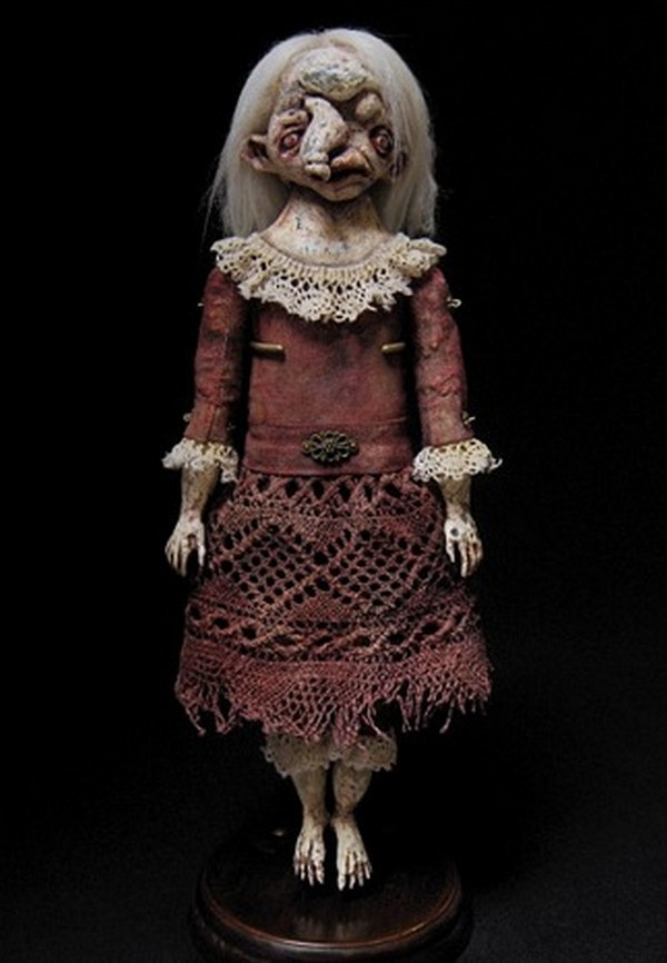 Creepy Art Dolls by Kira Shaimanova (2)