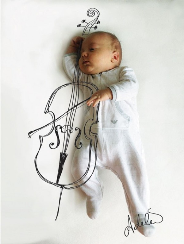 Cute and Creative Baby Illustrations by Adele Enersen (2)