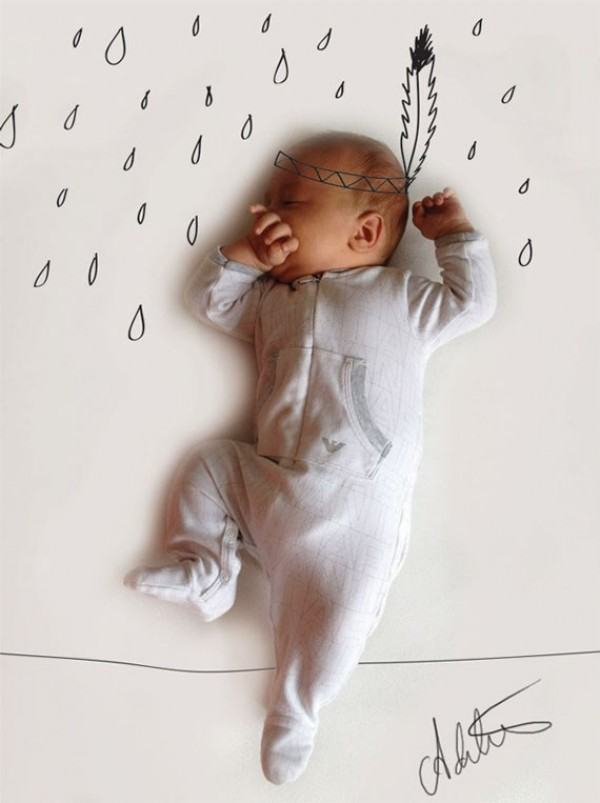 Cute and Creative Baby Illustrations by Adele Enersen (3)