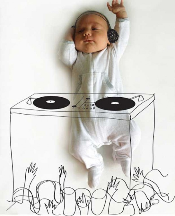 Cute and Creative Baby Illustrations by Adele Enersen (4)