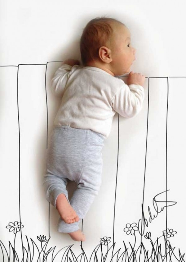 Cute and Creative Baby Illustrations by Adele Enersen (6)