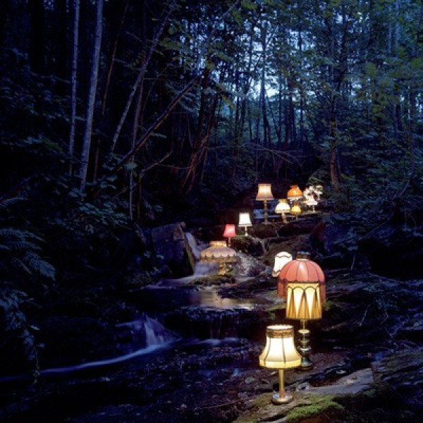 Rune Guneriussen's Quirky Installations in Nature (2)