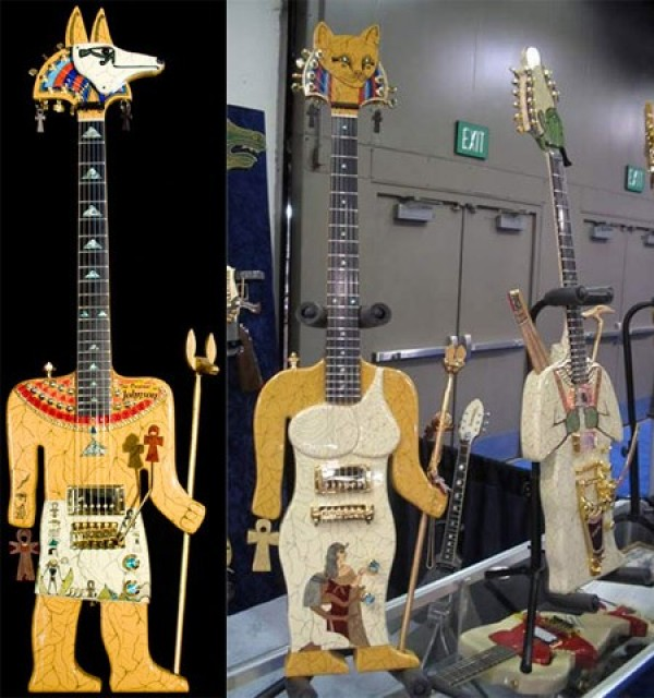 The Most Insane Custom Guitars You'll Ever See (6)